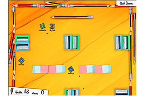 Tiny Tanks Game - Play online at Y8.com