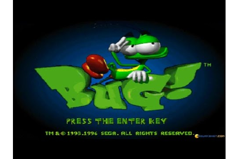 Bug! gameplay (PC Game, 1995) - YouTube