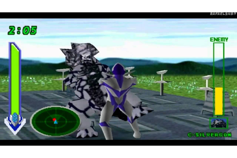 Ultraman Tiga & Ultraman Dyna:New Generations PS1 (Part 13 ...