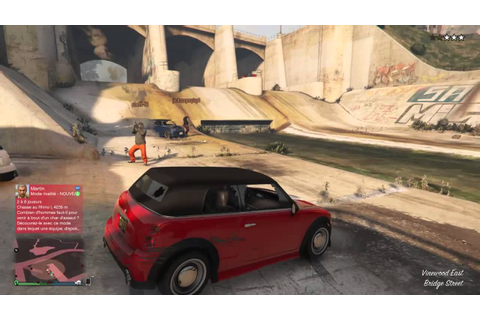 Braquage à l'Italienne version GTA Online - YouTube