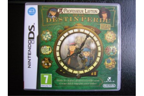 Professeur Layton et le Destin perdu on Qwant Games