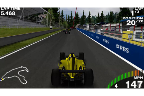 F1 Grand Prix PSP Gameplay HD - YouTube
