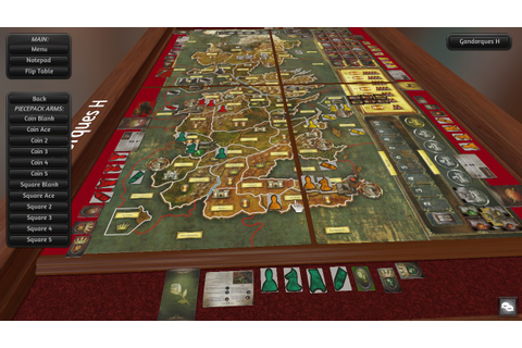 A Game of Thrones - The Board Game at Tabletop Simulator ...