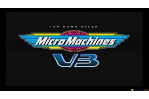 Micro Machines V3 gameplay (PC Game, 1997) - YouTube