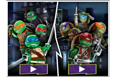 Lego TMNT Game Ninja Turtles Shell Shocked Video Game ...