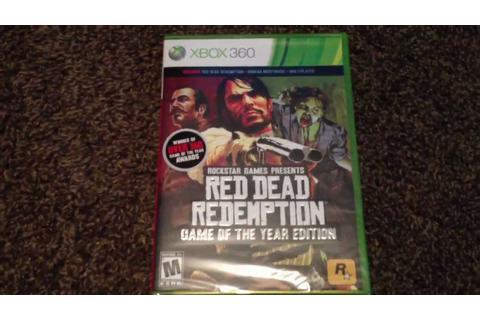 Red Dead Redemption Game of the Year Edition For Xbox 360 ...