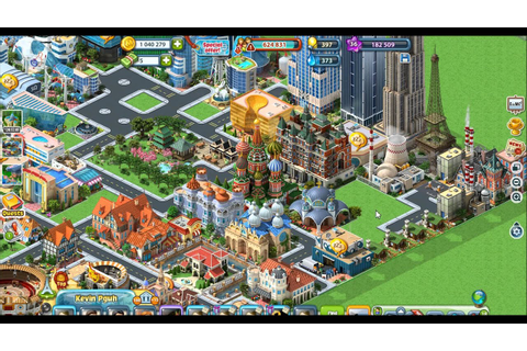 Megapolis Game : City Update - YouTube