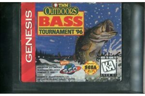 TNN Outdoors Bass Tournament '96 (Sega Genesis, 1996) Game ...