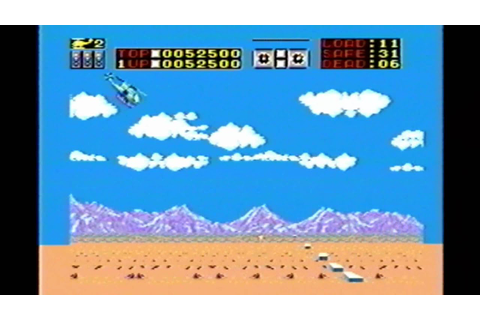 Classic Game Room HD - CHOPLIFTER for Sega Master System ...
