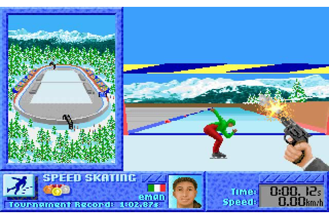 Download The Games: Winter Challenge sports for DOS (1991 ...