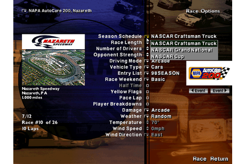Download NASCAR Racing: 1999 Edition (Windows) - My ...