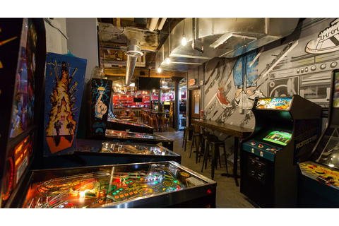 Inside Ready Player One, Downtown's Basement Arcade Bar ...