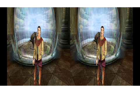 3D Stereo Game Play Myst V End of Ages - YouTube