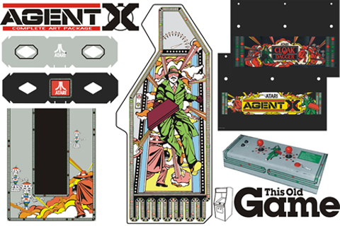 This Old Game has started Agent X artwork kit | Rotheblog ...