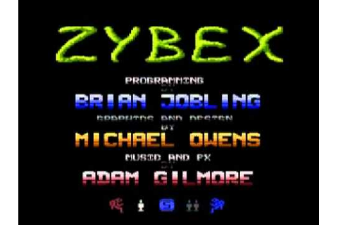 Atari Game - Zybex (Main Theme Music remix by Mefistolhl ...