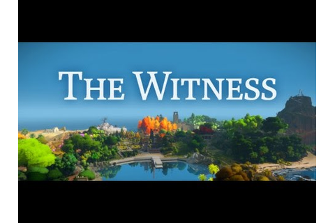 The Witness #1 - 신작 퍼즐게임(더 위트니스) - YouTube