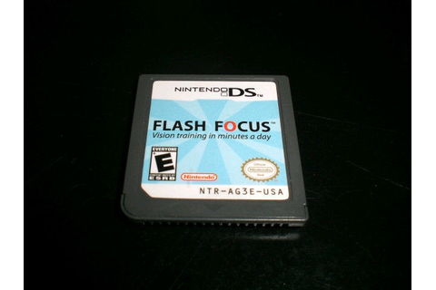 Flash Focus: Vision Training in Minutes a Day (Nintendo ...