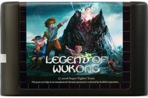 Legend of Wukong (2008) Genesis box cover art - MobyGames