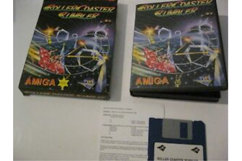 Roller Coaster Rumbler Amiga game complete Tyme | eBay