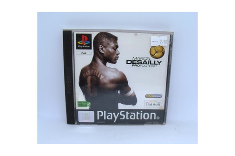 Marcel Desailly Pro Football sur Playstation 1 - Games and ...