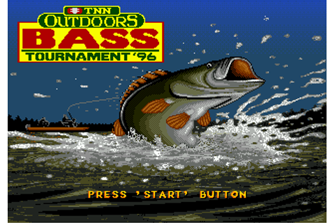 Play TNN Outdoors Bass Tournament '96 Sega Genesis online ...