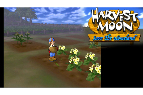 Harvest Moon: Save the Homeland ... (PS2) - YouTube