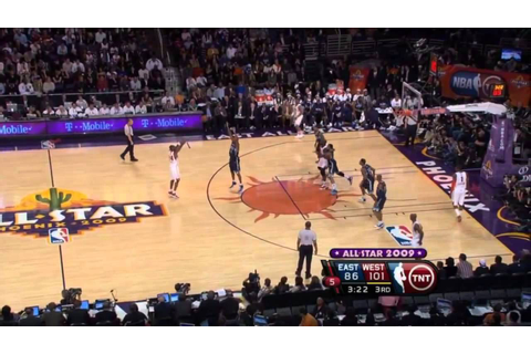 2009 NBA All-Star Game Best Plays - YouTube