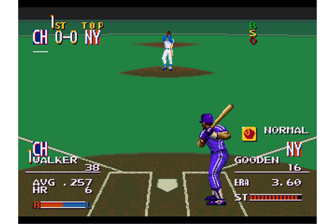 MLBPA Sports Talk Baseball - Download - ROMs - Sega ...