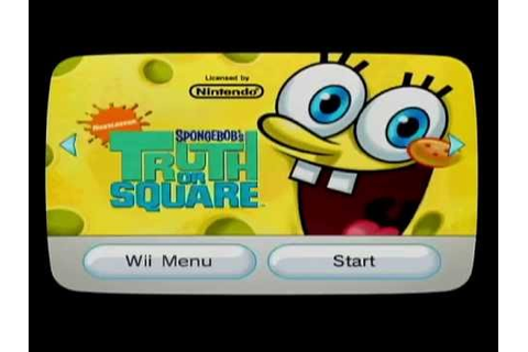 SpongeBob SquarePants Truth or Square 100% Walkthrough ...