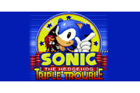 Sonic the Hedgehog™: Triple Trouble | Virtual Console ...