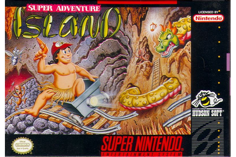 Super Adventure Island SNES Super Nintendo