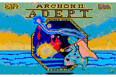 Archon II: Adept (1989) by Lynsoft Amstrad CPC game