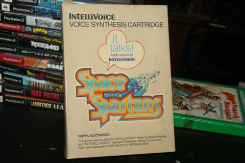 Space Spartans Intellivoice Intellivision Game | eBay
