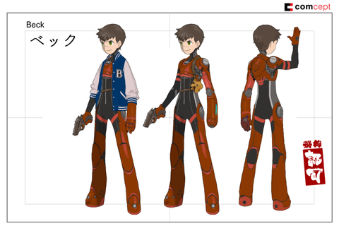 Red Ash is Fully Revealed as a Mega Man Legends Successor ...