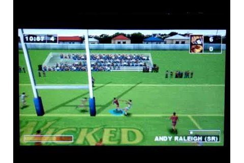 Rugby League Challenge Sony PSP - YouTube