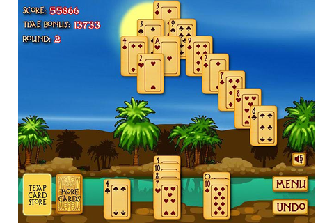 Play Pyramid Solitaire: Ancient Egypt Free Online Game