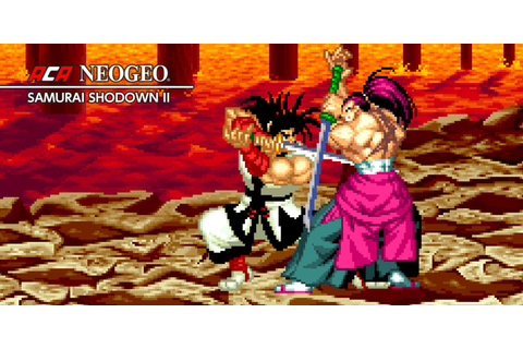 ACA NEOGEO SAMURAI SHODOWN II | Nintendo Switch download ...