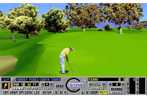 Links: The Challenge of Golf (1990) by Access Software MS ...