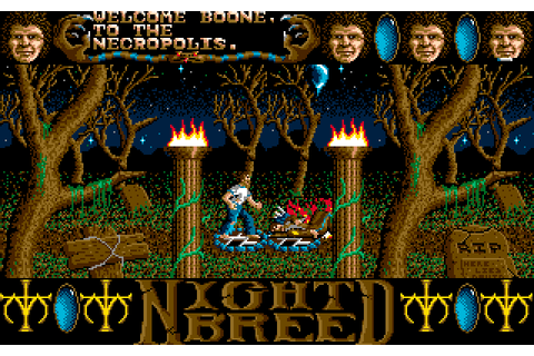 Abandonware Games / Clive Barkers Nightbreed The Action Game
