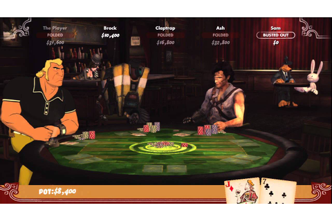Poker Night 2 Gameplay Part 1 - YouTube