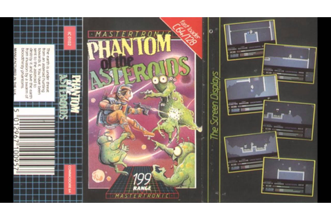 Phantoms Of The Asteroid by Rob Hubbard - Commodore 64 ...