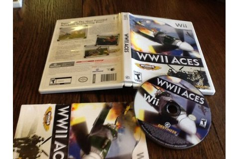 WWII Aces (Nintendo Wii, 2008) USED VIDEO GAME FREE USA ...