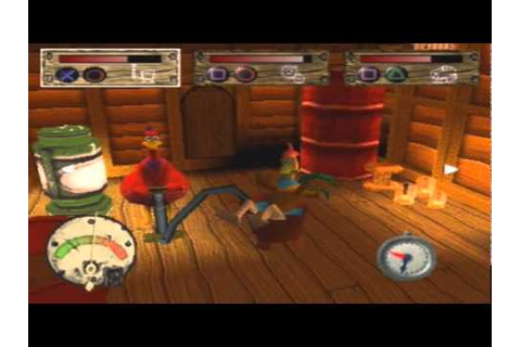 Chicken Run (PS1) - Poultry in Motion Walkthrough - YouTube
