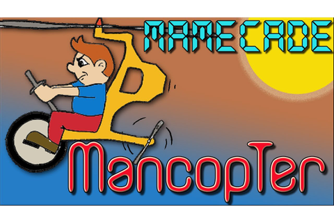 Mancopter Commodore 64 Video Game Review - MAMECADE - YouTube