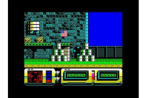 Action Force 2 - ZX Spectrum HQ - YouTube