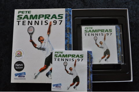 Pete Sampras Tennis 97 Big Box PC Game - Standaard