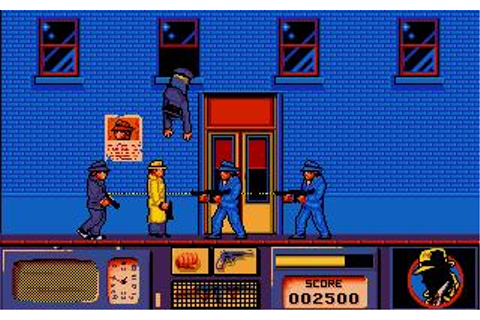 Dick Tracy Download (1990 Arcade action Game)