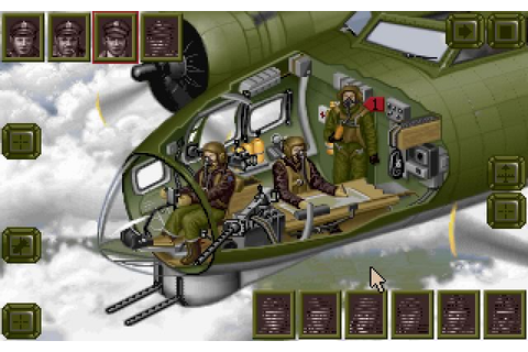 B-17 Flying fortress vehicle simulation for DOS (1992 ...