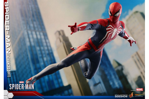 Marvels Spider-Man - Spider-Man Advanced Suit 1/6 Scale ...
