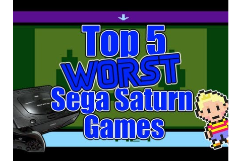 Top 5 Worst Sega Saturn Games Ever! - JackPlaysGames - YouTube